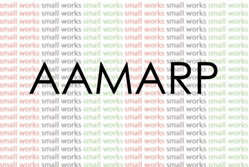 """Image from AAMARP """"Small Works"""""""